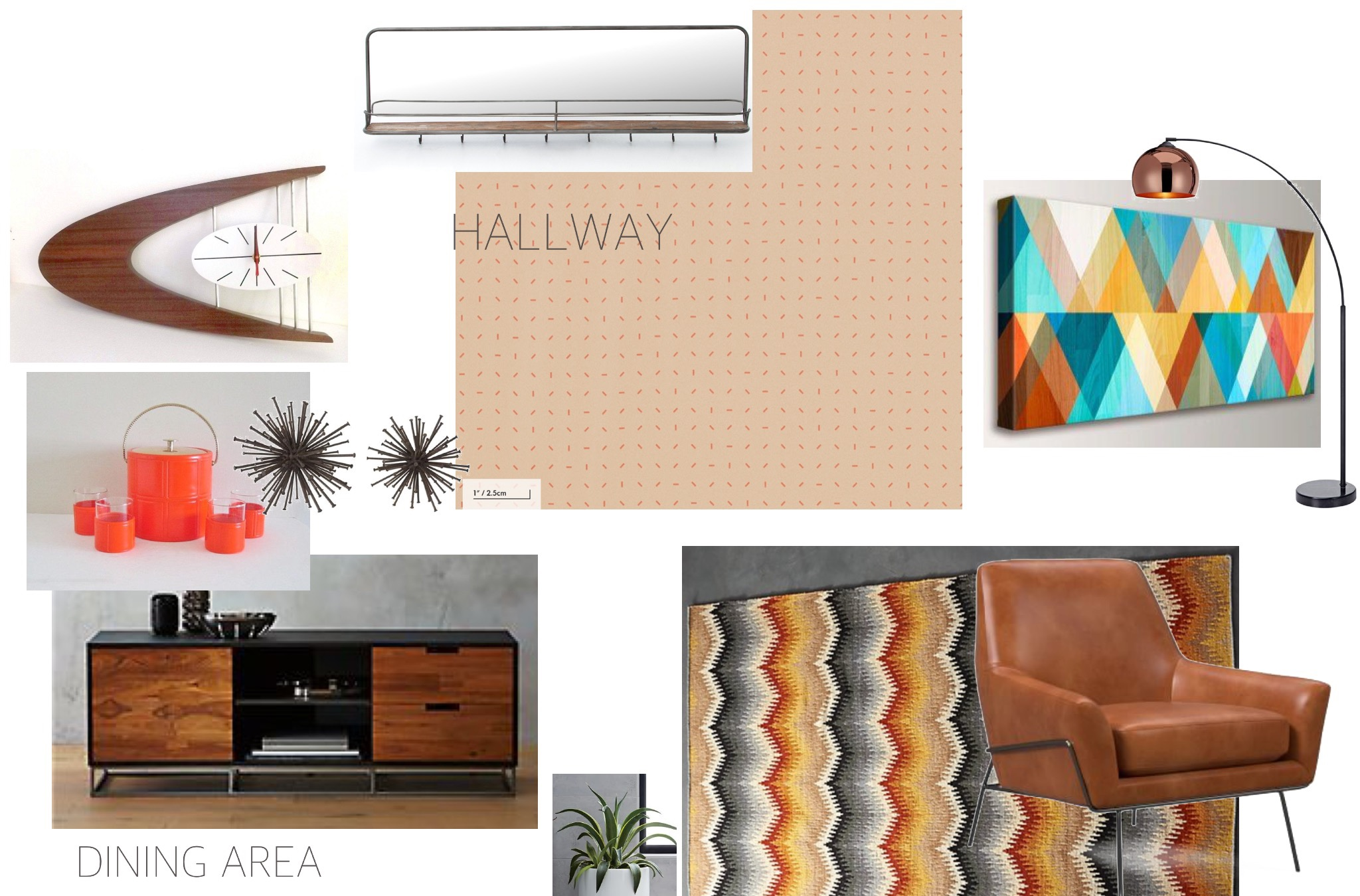 Mood-Board-Brooklyn-Condo-E-Design-Retro-Inspired-Colorful-Wall-Art