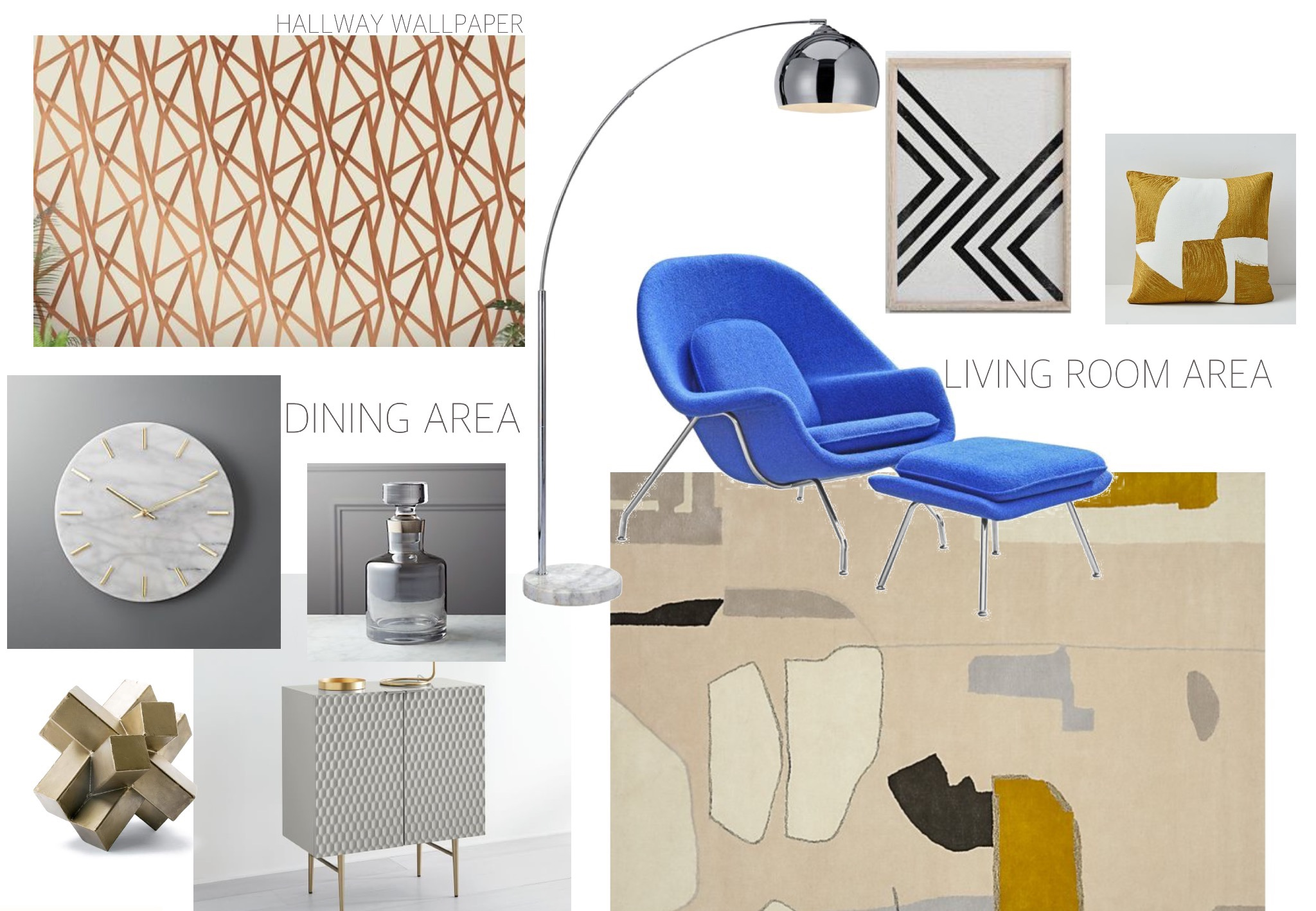 Mood-Board-Brooklyn-Condo-E-Design-Retro-Inspired-Gold-Blue