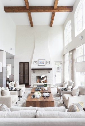 Transitional Modern Living Room by  Butter Lutz Interiors .