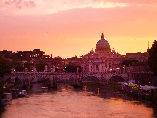 This is the photo I took in that moment. Rome holds such a special place in my heart.