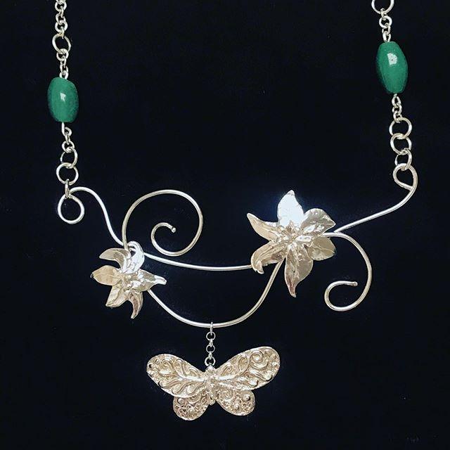 #necklace #butterflynecklace #fashionjewelry #sterlingsilverjewelry #wearableart #silvercreations #handmadejewelry #moderndesign #jewelryart #jewelrylove #contemporaryjewelry #trendsetter #IGjewelry #jewelrylovers #highendjewelry #jewelrymaker #jewelrystyle #jewelrydesigner #handmadelove #originaljewelry #uniquejewelry #IGfashion #originalaccessories #creativejewelry #oneofakindjewelry #jewelryaddict #jewelrytrends