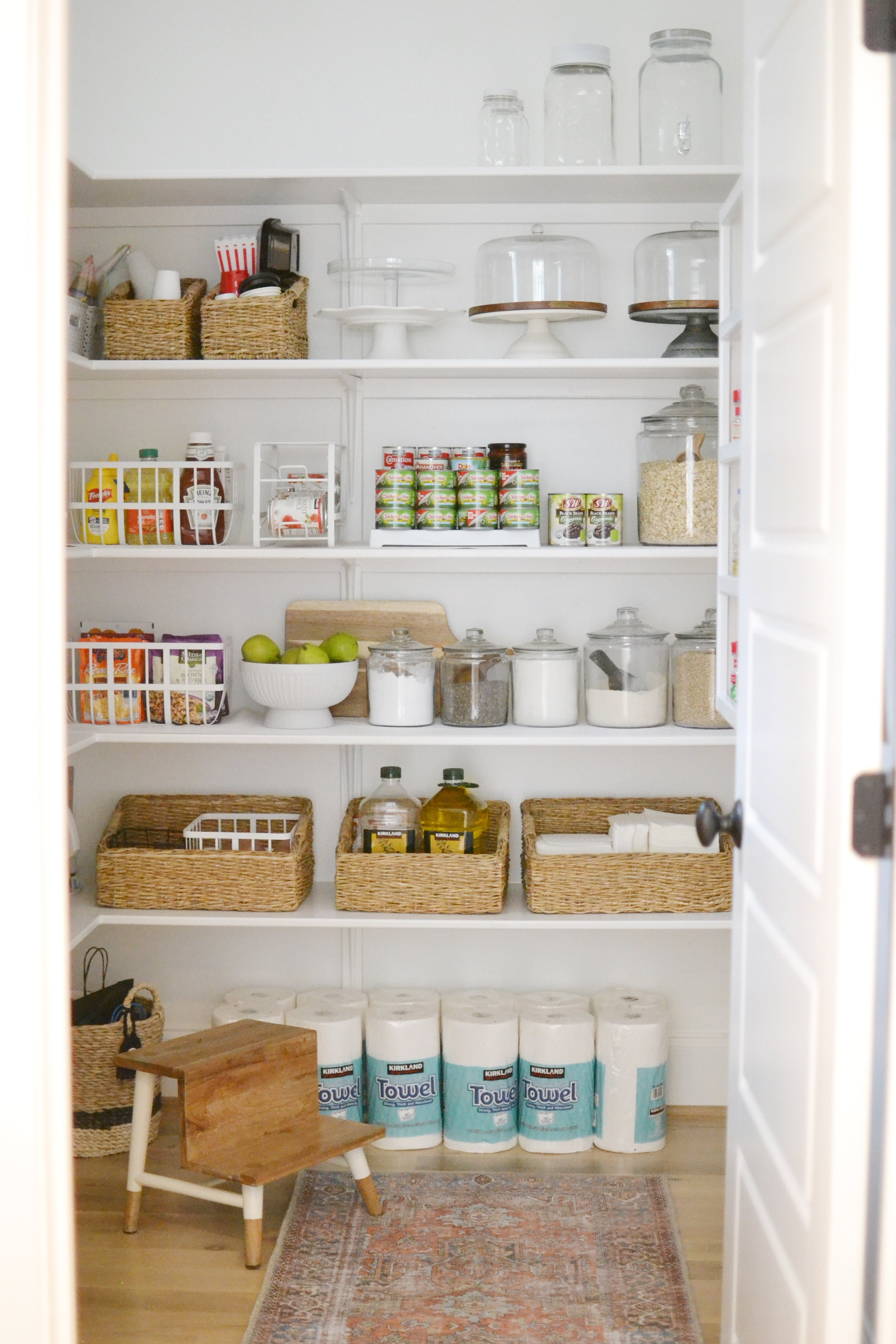 Our Home: The Pantry + How I Organized On a Budget