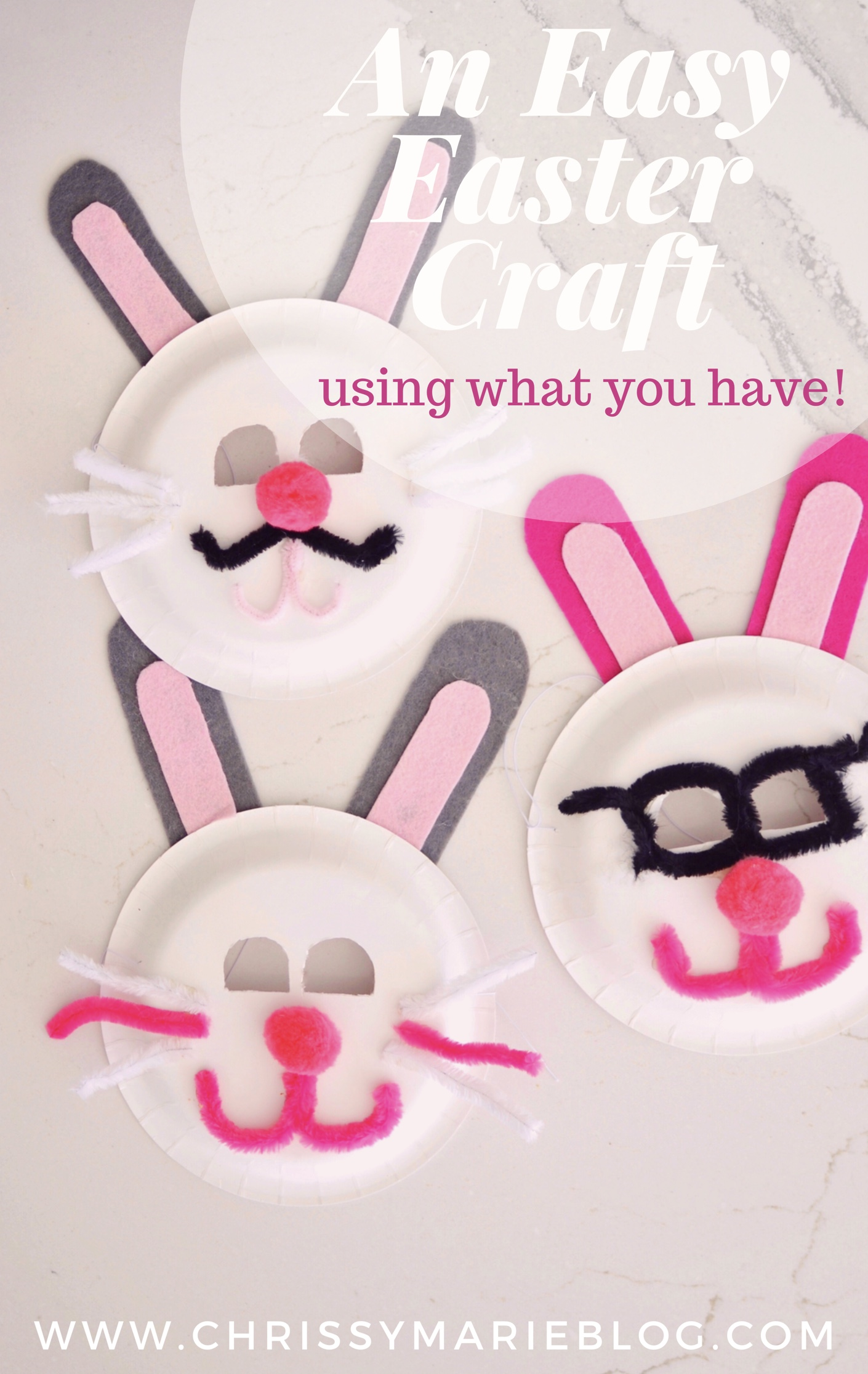 An Easy Easter Craft for Kids: Easter Bunny Mask