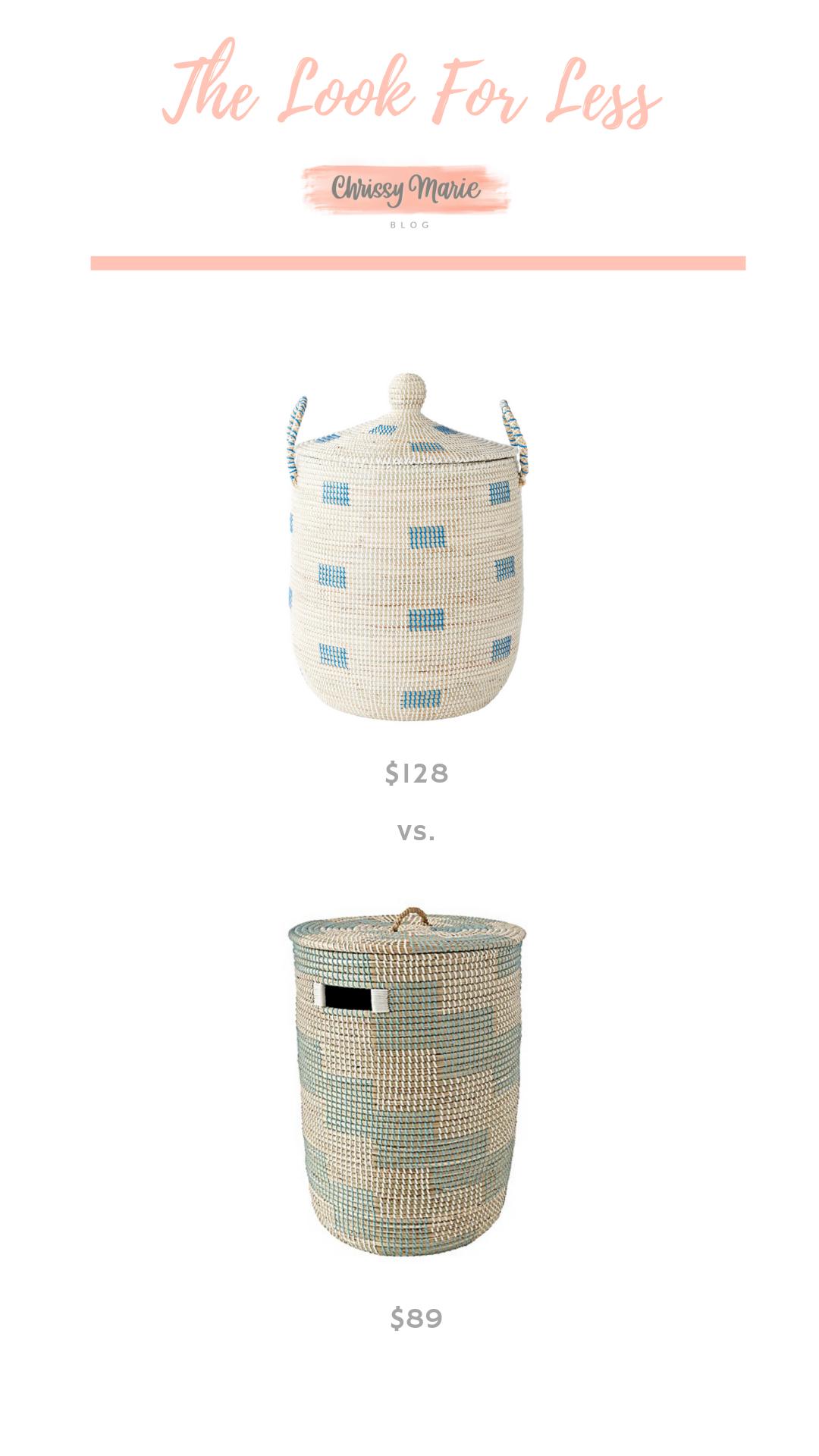 La Jolla Basket And Woven Hamper... Save or Splurge?