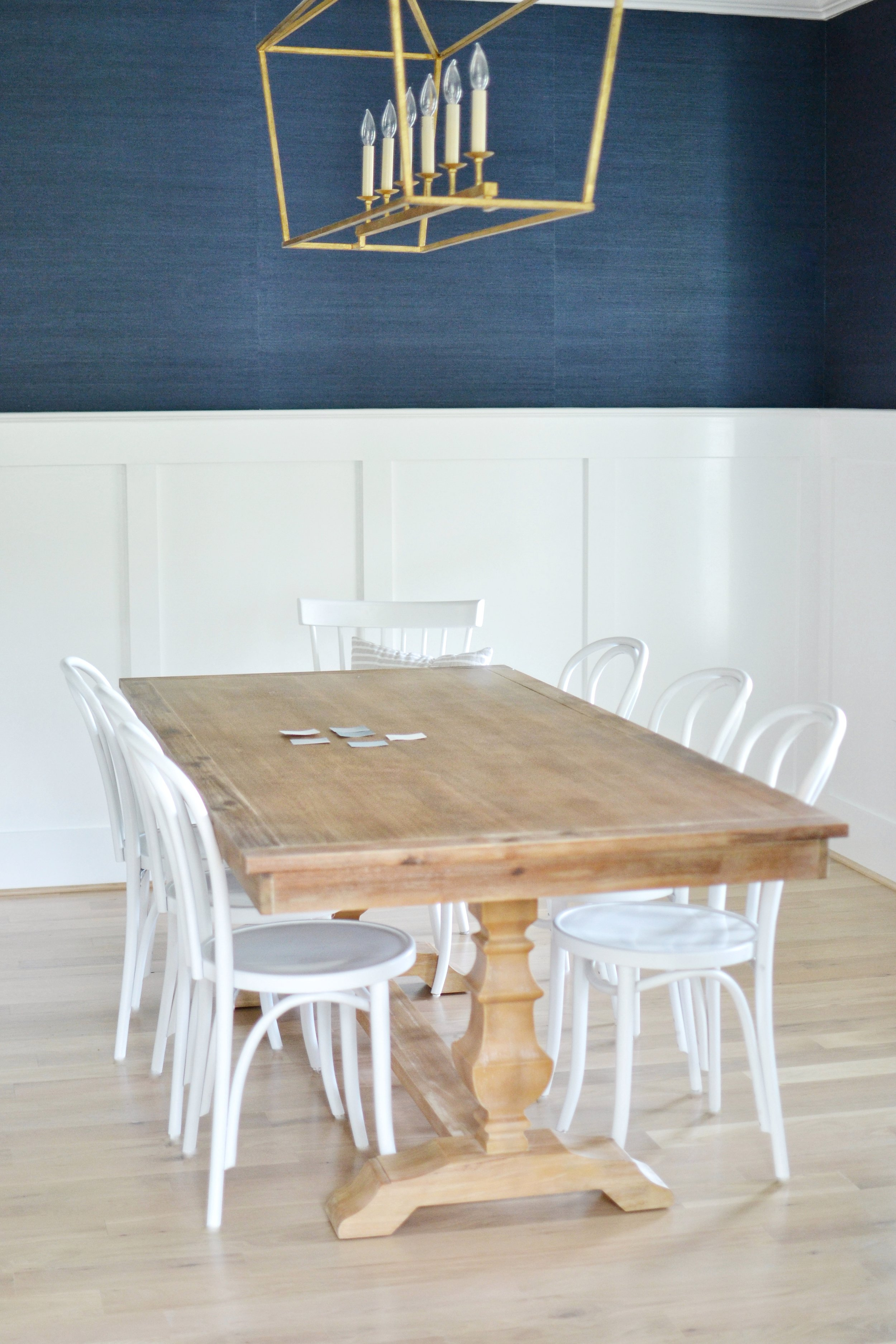 Bentwood Chairs Wood Table