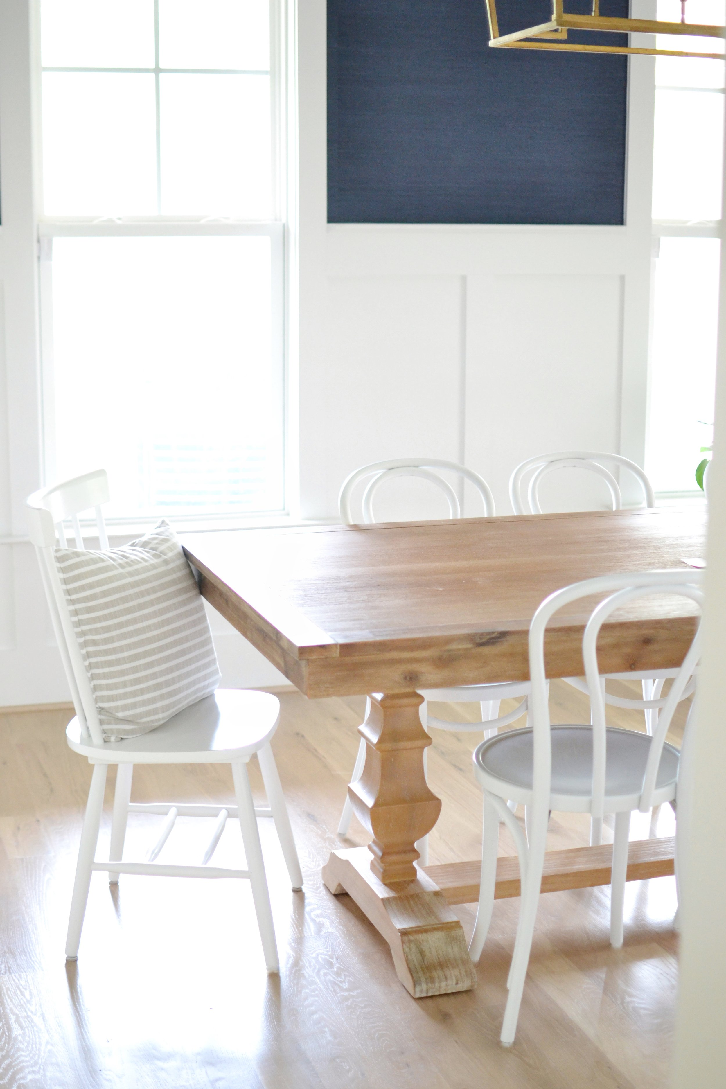 Bentwood Chairs Wood Dining Table