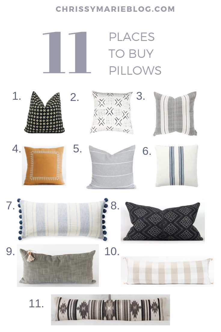 The Big Secret About Throw Pillows, and 11 New Places To Buy Them
