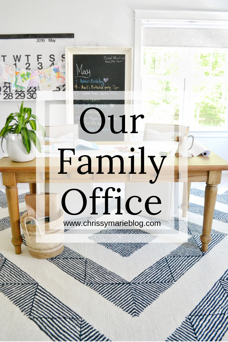 Family Home Office Tour with Chrissy Marie Blog + Steven Shell Living