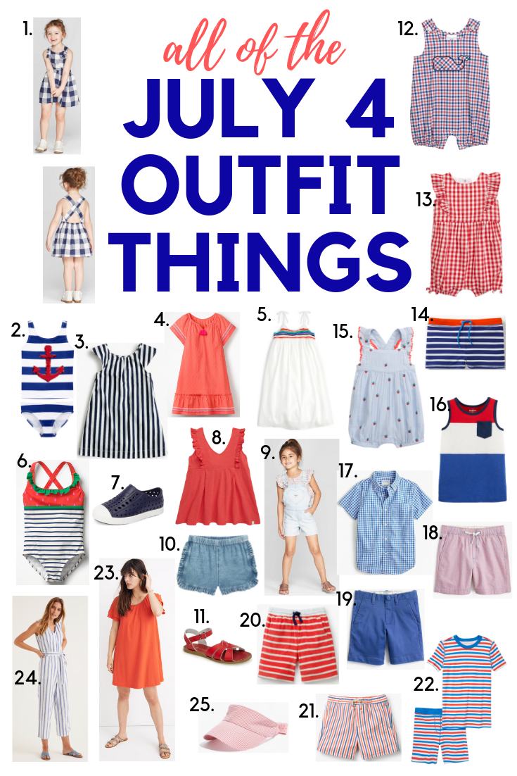 July 4 Family Outfits