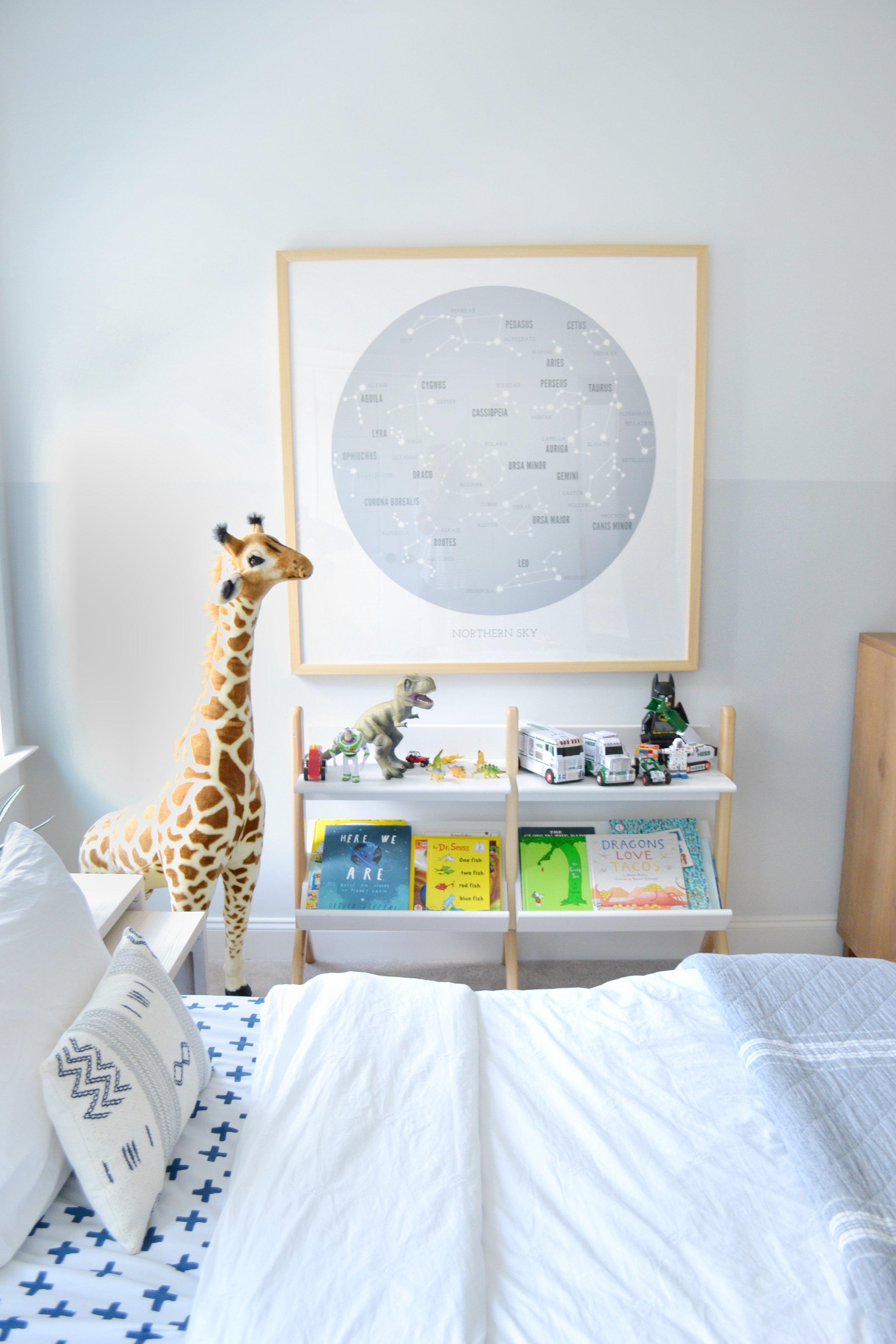 Sharing A Coastal + Fun Boys Room On The Blog!