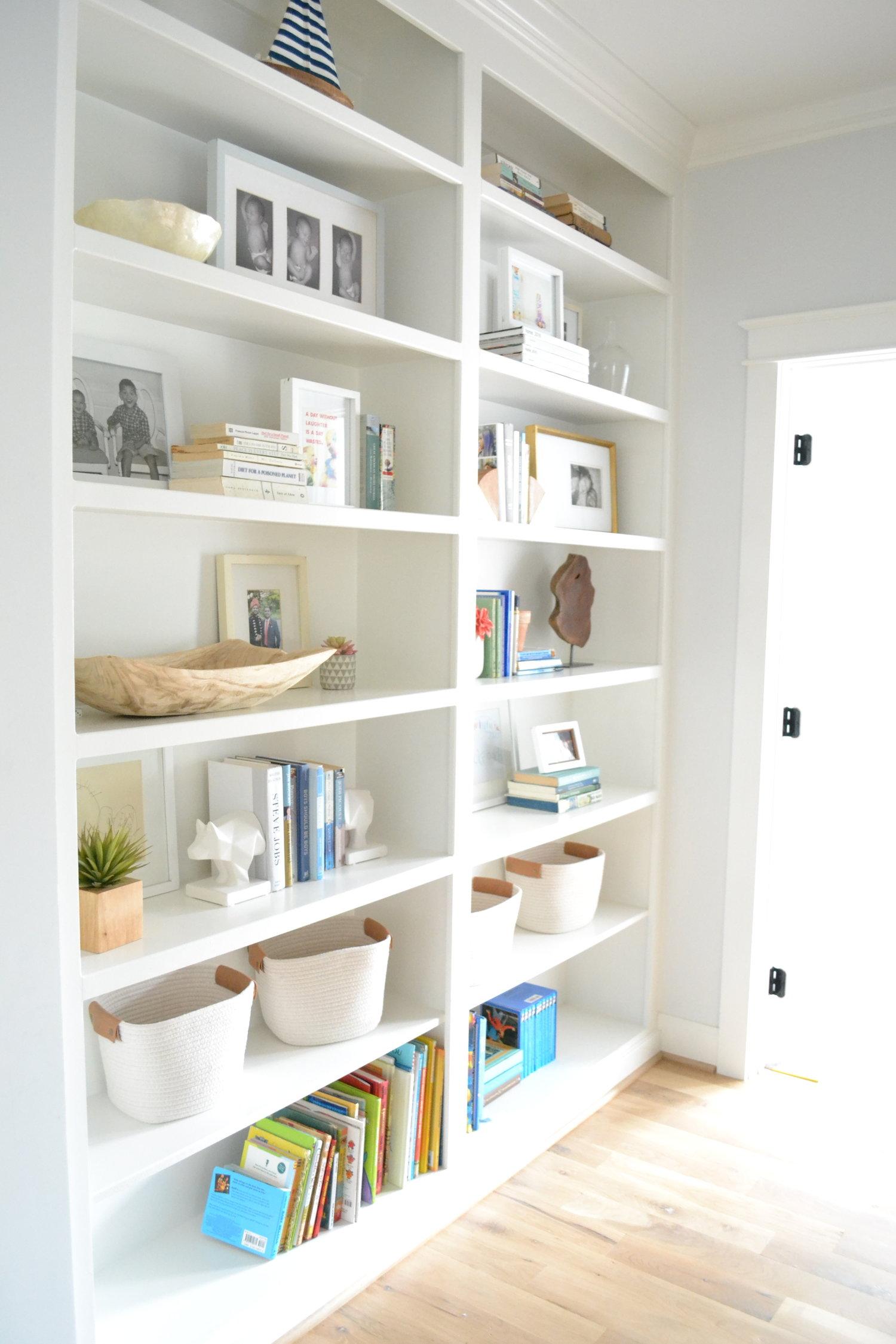 Hallway Bookshelves: An Update
