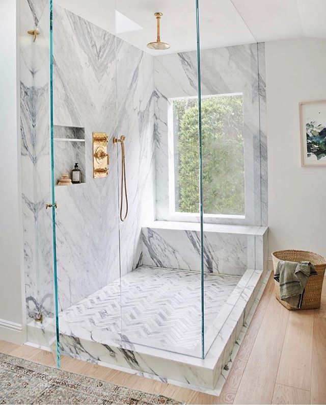 When we built, there were a few things left out that we couldn't do because, budget! Now after living in the home for a bit, it's fun to be slowly hitting that punch list up! ⁣ ⁣ Tiling our master bathroom walls is on our list and I'm looking for bathroom inspo! 👀 @amberinteriors is bae and this shower- geez!😍⁣ ⁣ ⁣ ⁣ ⁣ ⁣ #iheartthishaven #howyouhome  #currenthomeview  #habitandhome⁣ #mybhg #heyhomehey #rshome  #bathroomrenovation #mypinterest #simplystyleyourspace  #interiorstyling #modernhomes #betterhomesandgardens #inmydomaine  #mymodern  #bhgstylemaker  #glitterguide #mymodern  #apartmenttherapy #smpliving #smploves  #bathroom #currenthomeview #bathroomgoals #bathrooms #modern #showerdesign #bathroomdesign #homegoals