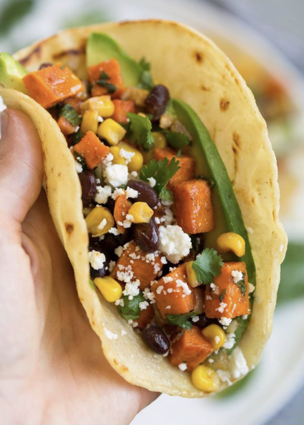 Healthy Sweet Potato Tacos