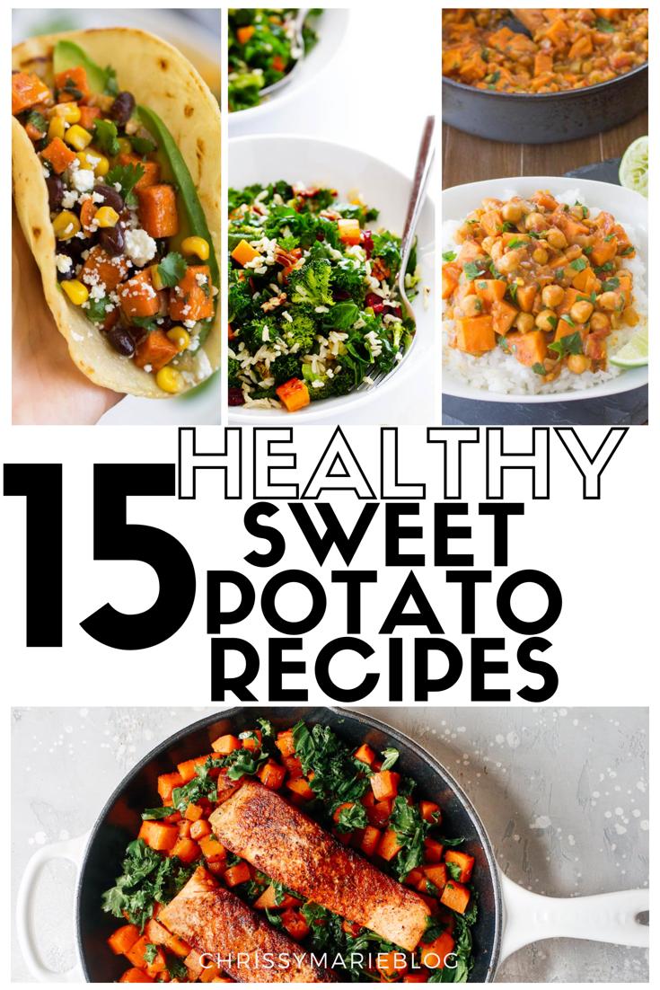 15 Healthy Sweet Potato Recipes