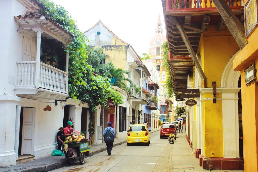 Travel blog city guide to Cartagena, Colombia