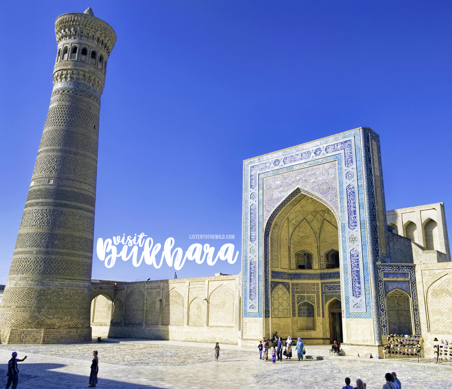 Travel blog city guide to Bukhara, Uzbekistan