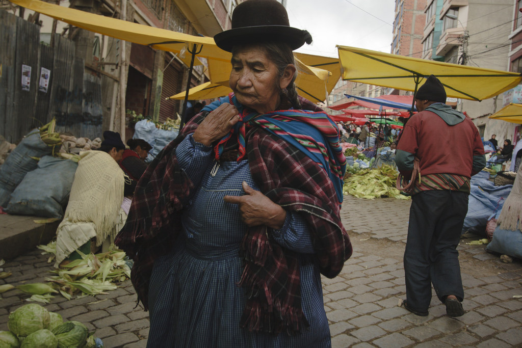Check out this photographer's amazing Bolivian street photography  here