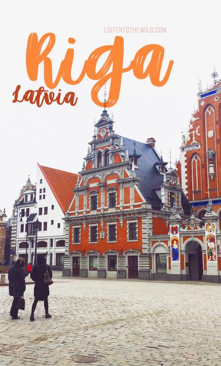 Travel blog city guide to Riga, Latvia