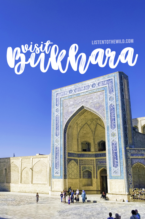 Travel blog city guide to Bukhara, Uzbekistan
