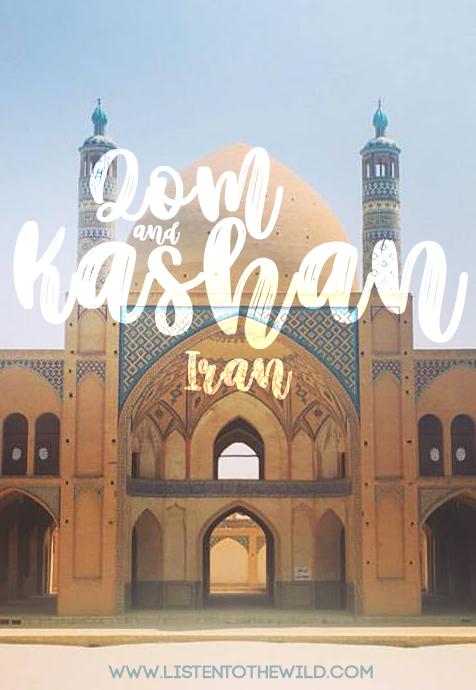 Travel blog guide to Qom, Iran and Kashan, Iran