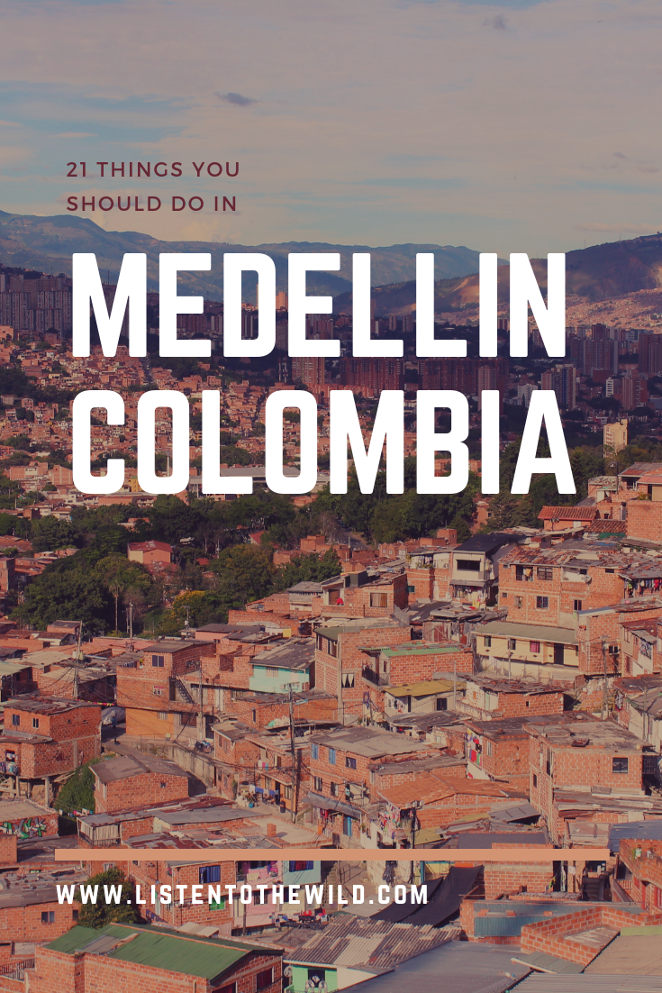 A collection of the best things to do in Medellin, Colombia