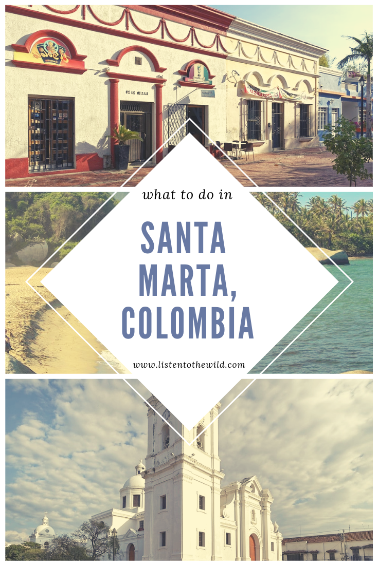 What is there to do in the historic city of Santa Marta, Colombia?
