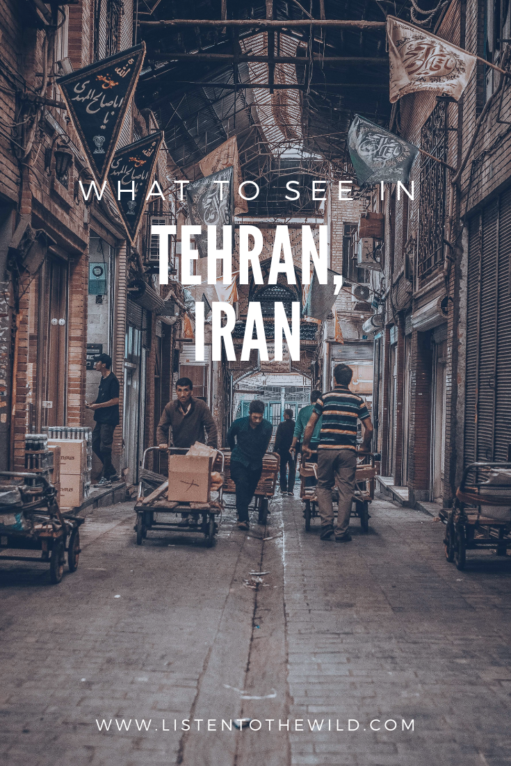 Things to do in Tehran, a guide to travelling in the capital of Iran.