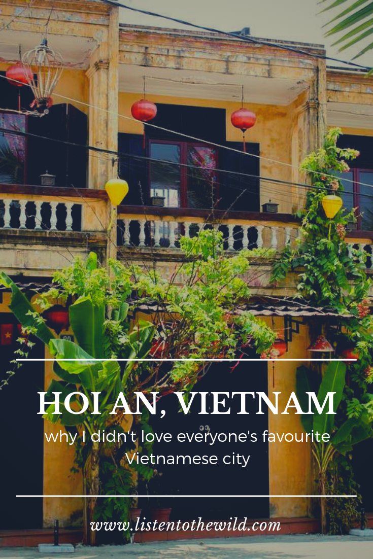 Is Hoi An as great as the travel blogs make it out to be? See my thoughts here.