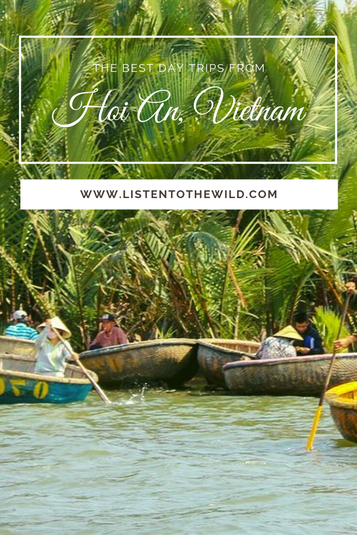 What are the best day trips to take from Hoi An, Vietnam?