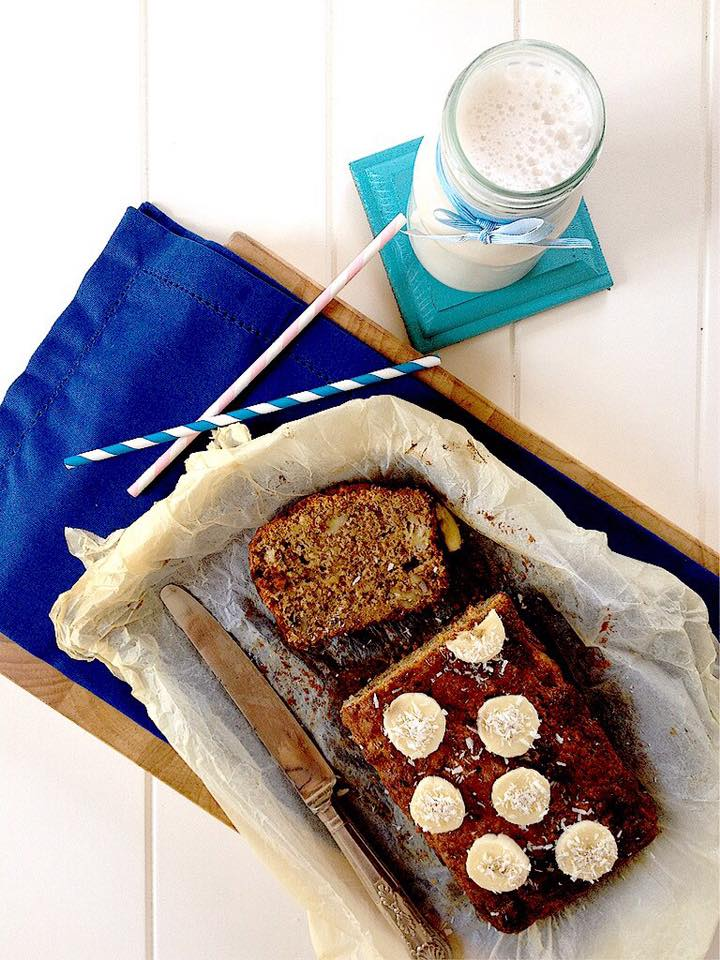 COCONUT AND BANANA LOAF RECIPE (WHEAT AND GLUTEN FREE)