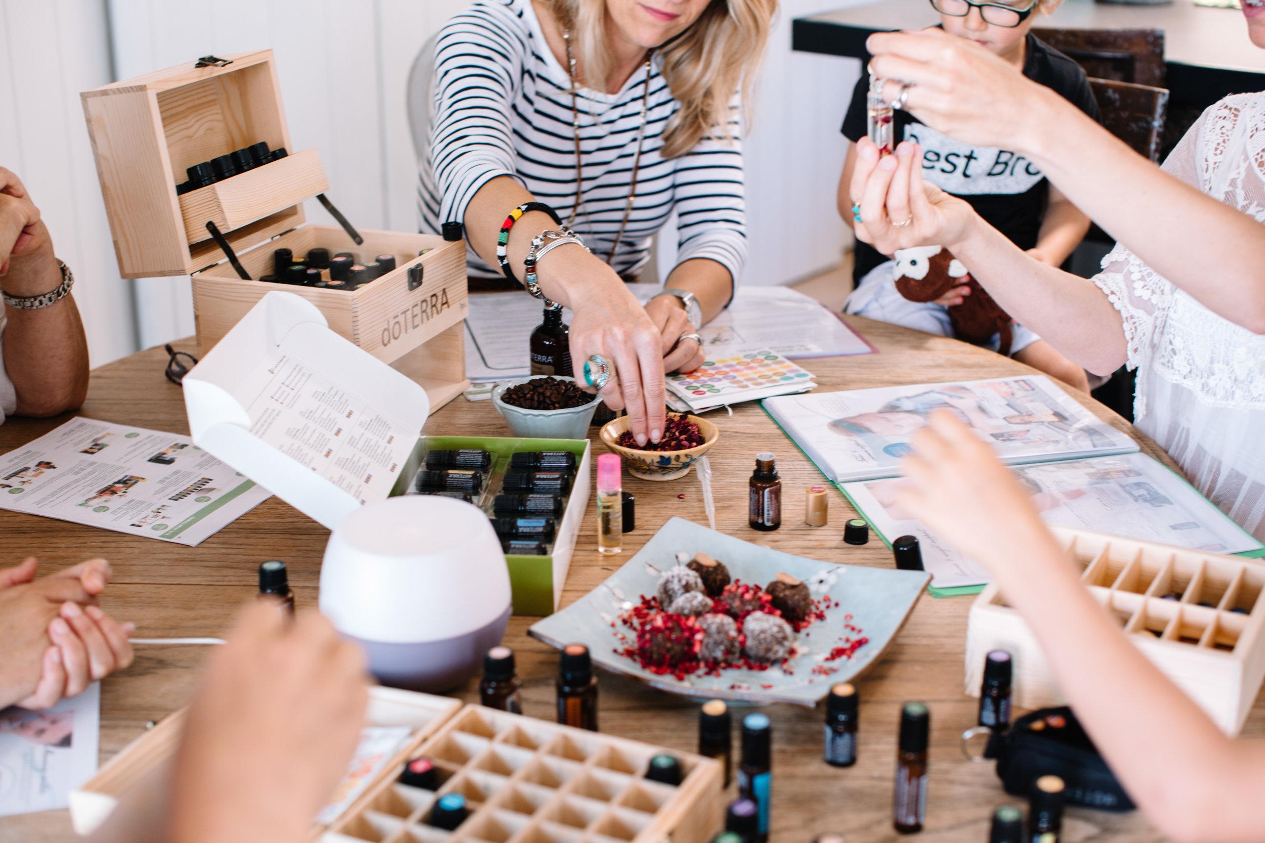 doTERRA essential oils class in Jersey - www.nikolettjones.com