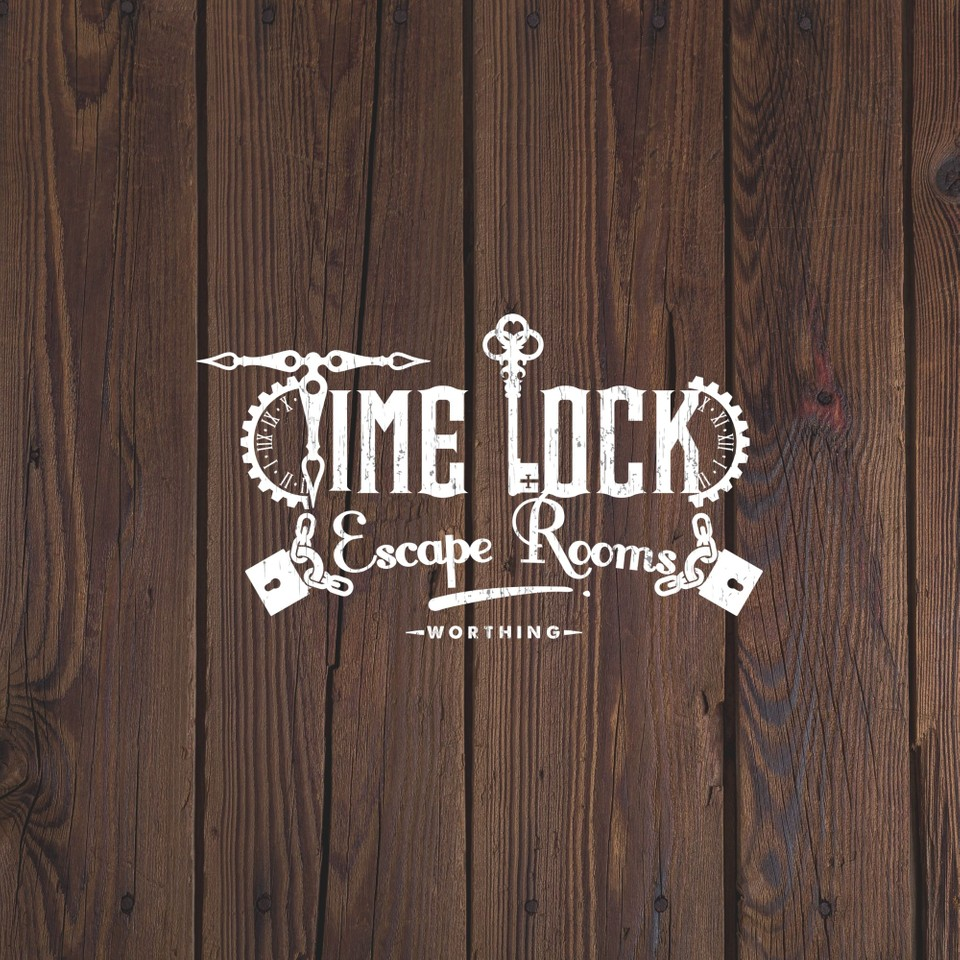 Logo we created for Time Lock Escape Rooms