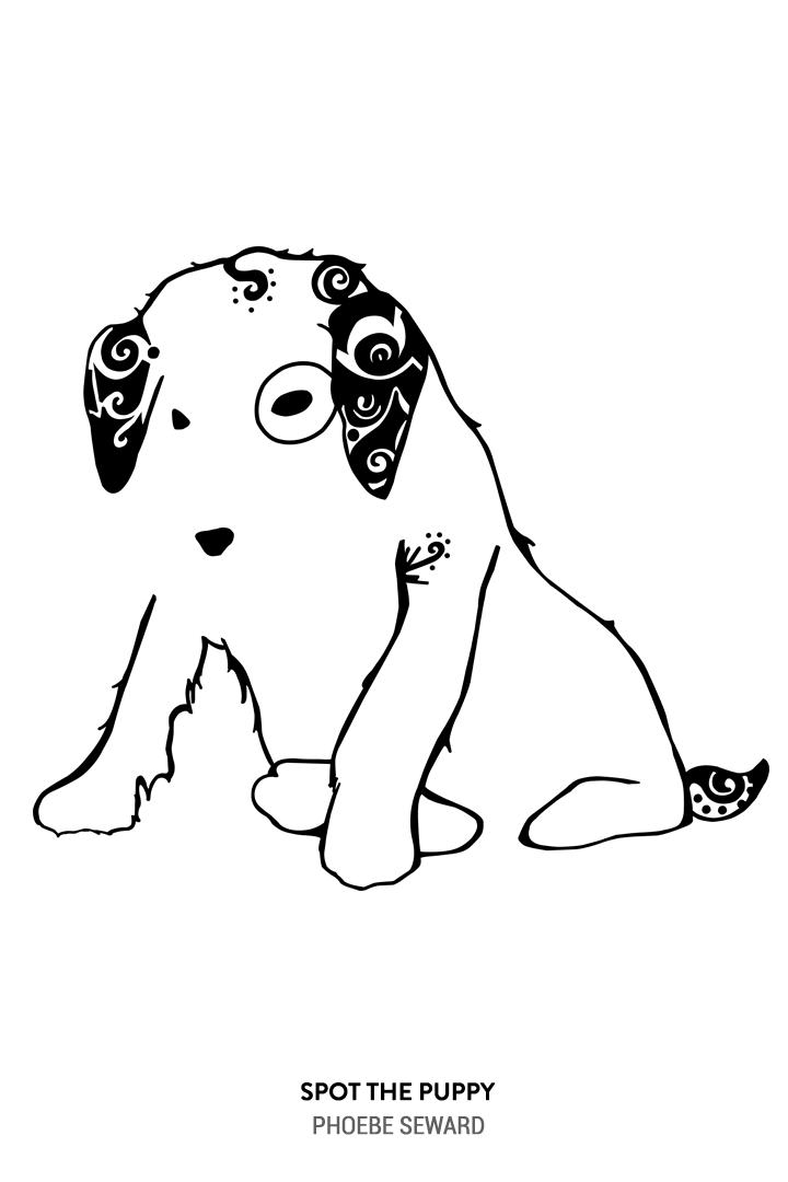 Spot the Puppy by Phoebe Seward