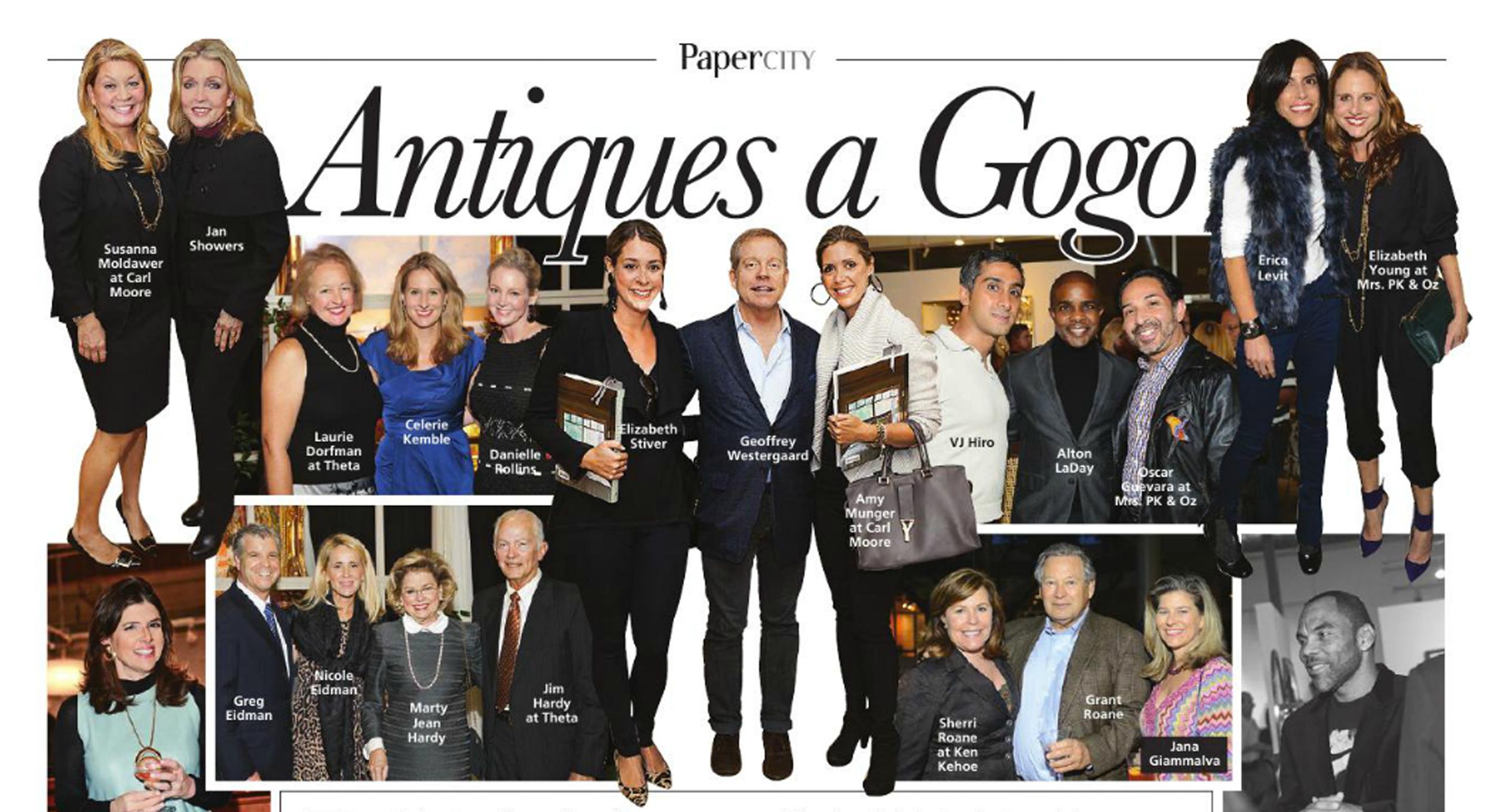 PaperCity Magazine Houston, April 2014 - Antiques A GoGo