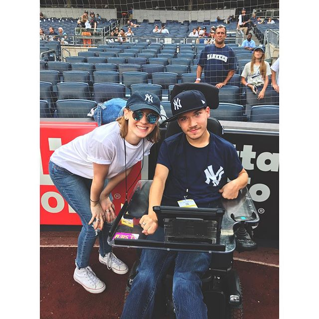 We did the Yankees game in STYLE tuhh-day!! I got a hat, a signed ball, and a boat load of memories😊 Tom, you are too kind, thank you for sharing the day with me and tolerating my shenanigans😂 (YMCA is still stuck in my head.....)