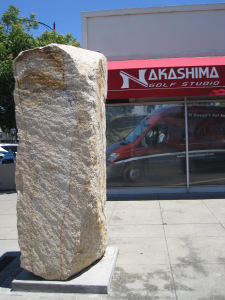 Issei Pioneer Stone