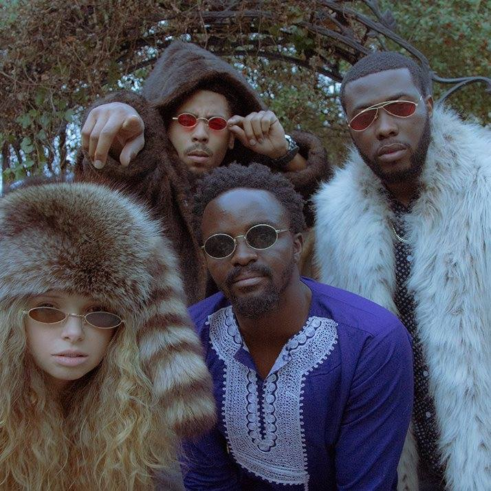 FAMOUS EXCHANGE - Famous Exchange is a collective of sonic alchemists consisting of Ladi, Sallie Mood, MJ The Smooth, King Ketu, and Tanner Wells.Together they deliver an eclectic collection of song and sound.