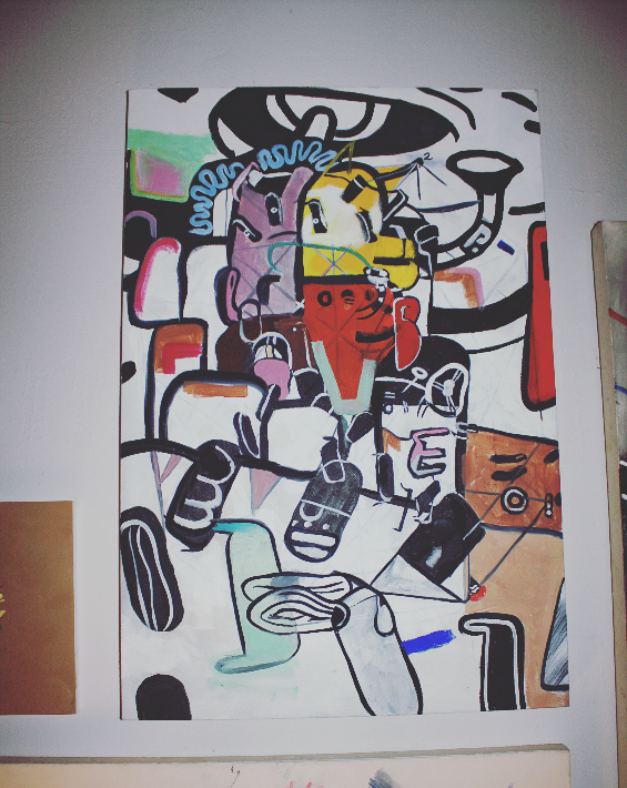 Artwork by Richard Benevedez