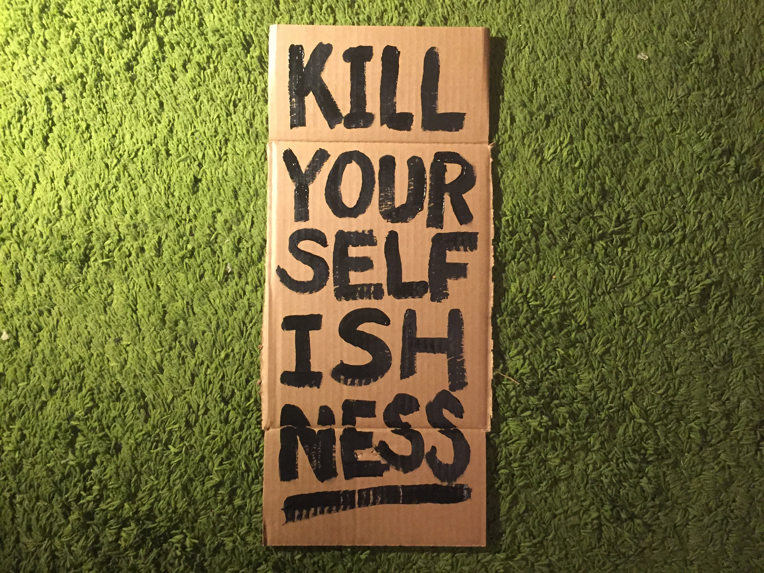 """""""Kill Your Selfishness"""" by MXXO"""