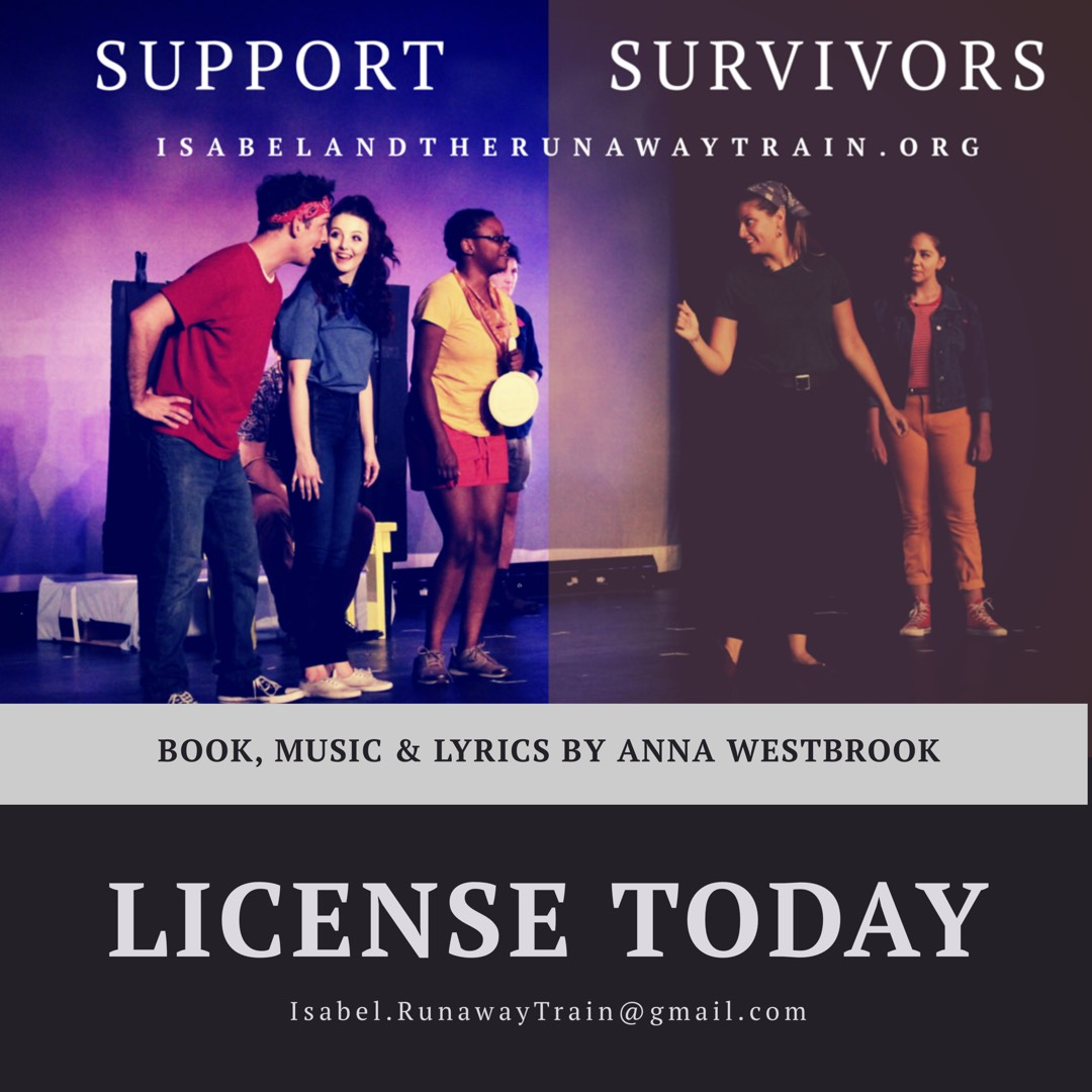 You can license the Isabel Book, Music & Lyrics (written by Anna Westbrook) for your own  Isabel  production.