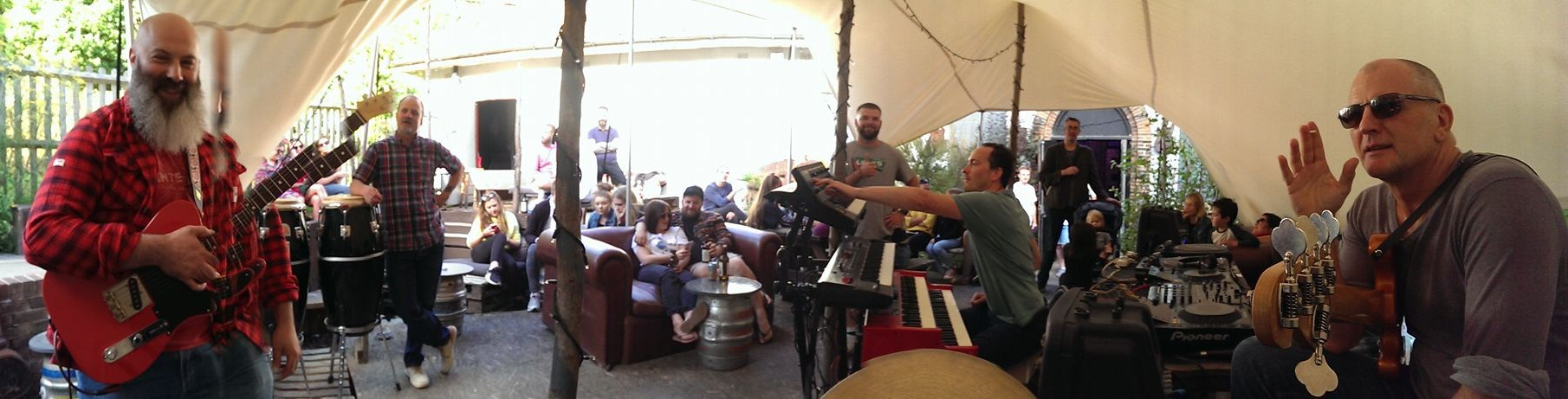 The drummer's view - Unfest Sunday Sessions, Tunbridge Wells Forum