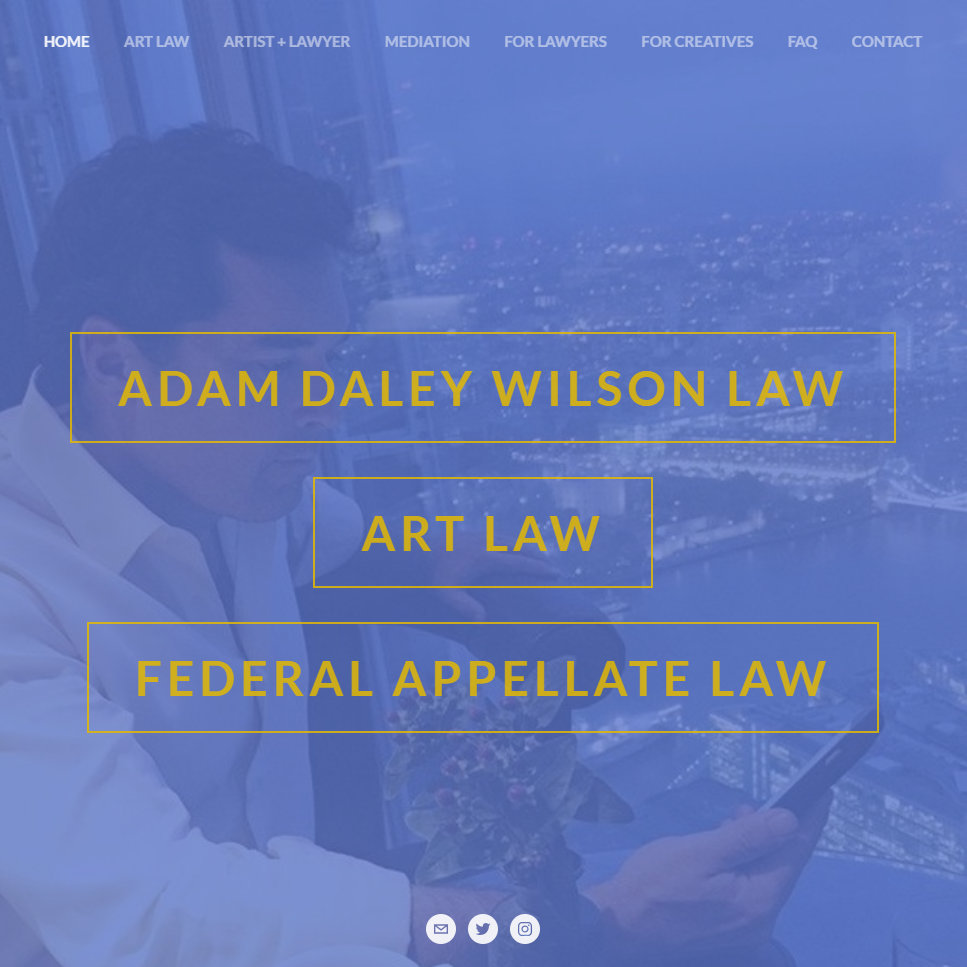 Adam Wilson Art Law Federal Appellate Law Appeals Briefs Legal Writing for Lawyers California Washington DC Maine 2019 Thumb.jpg