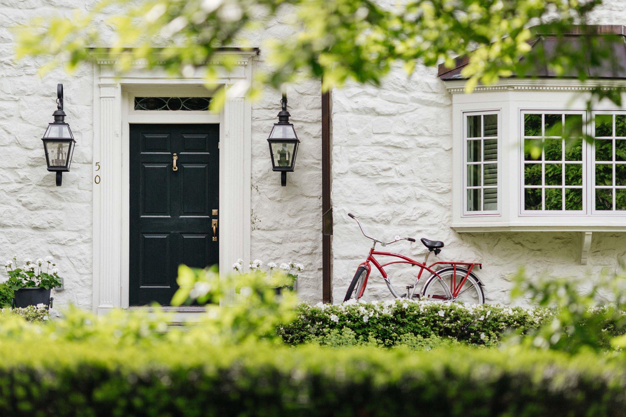 House exterior with front door