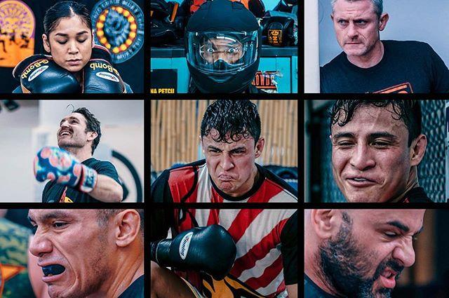 @rgmtnyc . . . @guambomb__ @elijah_clarke @mustangmckee @matty_krant @mucho_macho_cortez @_victorcanales @gulomonster #muaythai #portraits #fighters