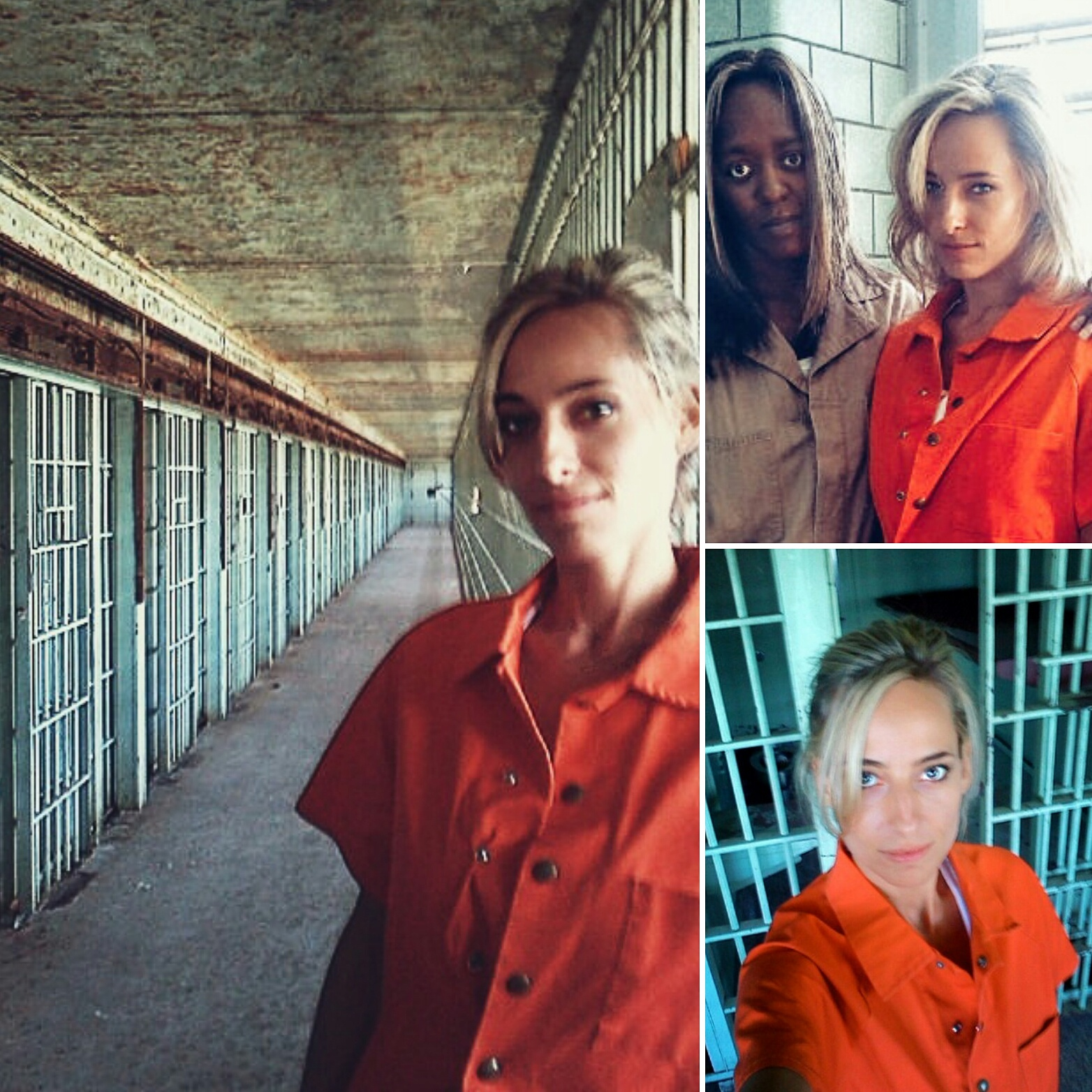 """Jessica behind the scenes shooting Lifetime Network's biographic special: """"Manhattan Madame"""""""