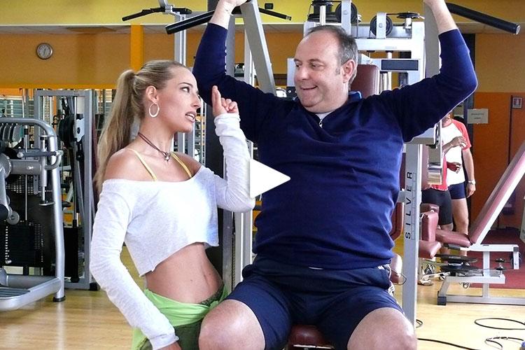 Jessica co-protagonista con Gerry Scotti nella fiction di Canale 5, Finalmente a Casa