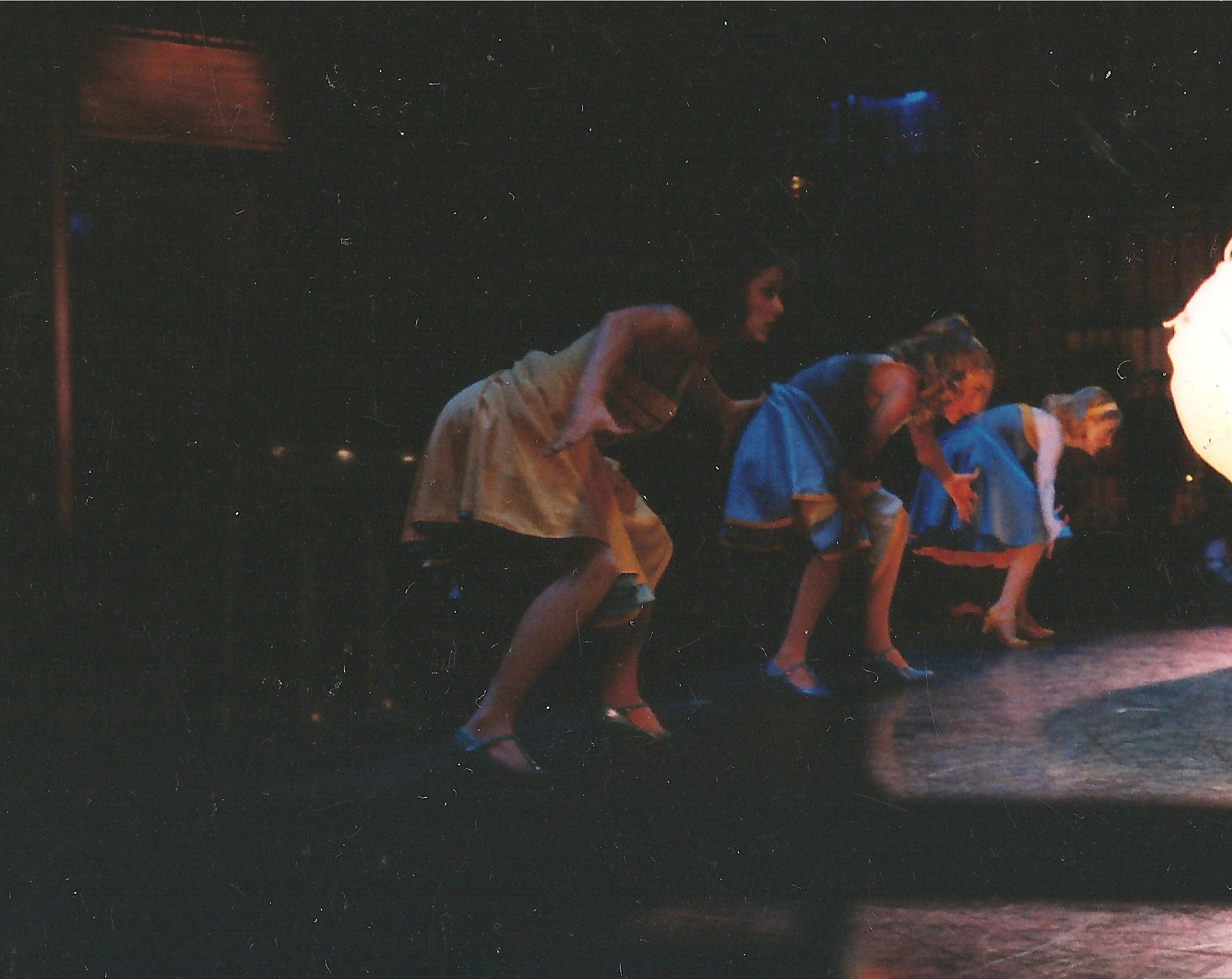 """Jessica, center, onstage in a scene from the World Tour of """"West Side Story"""""""