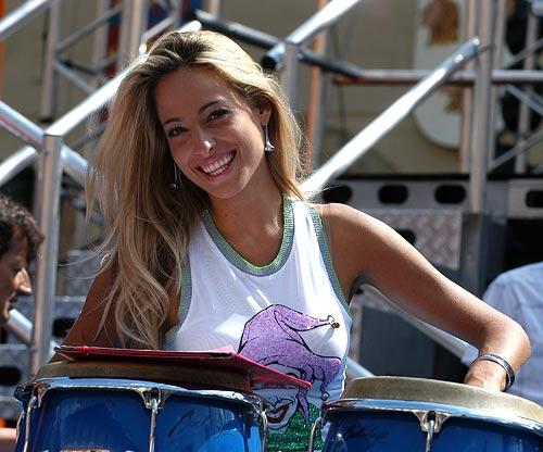 Jessica sul palco del Festivalbar per Italia1