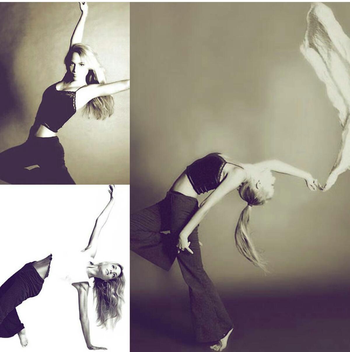 Jessica protagonista di un servizio foto da ballerina di Lorenzo Scaccini