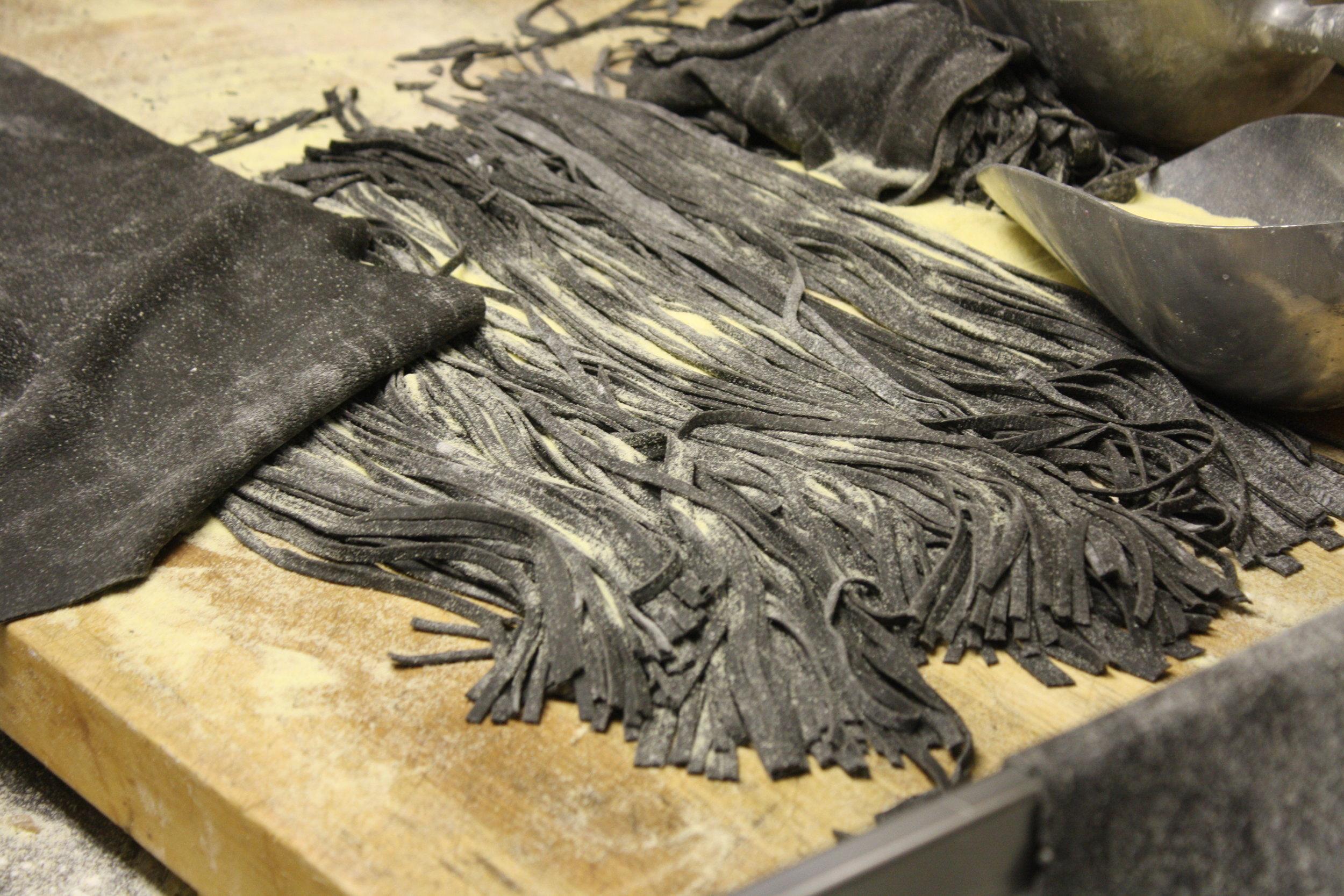 Homemade Black Linguini.JPG